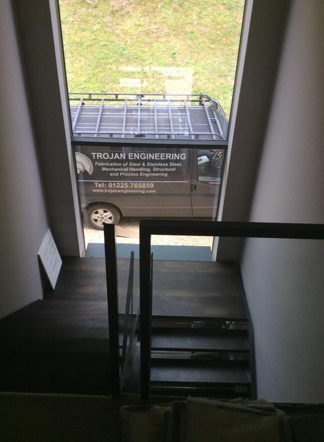 Staircase Chippenham steel