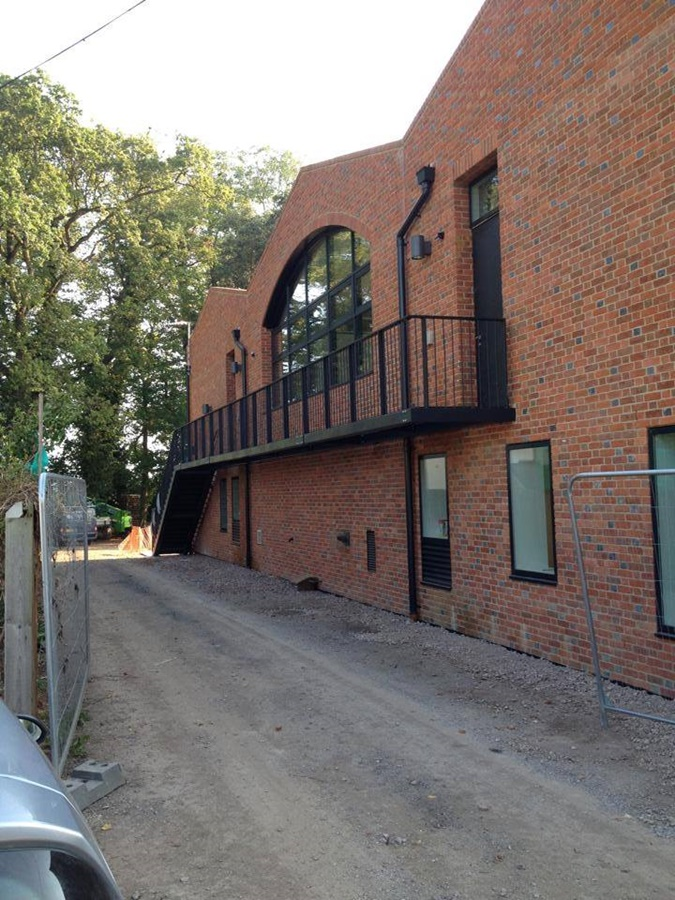 Safety Steel Fabrication Walkway