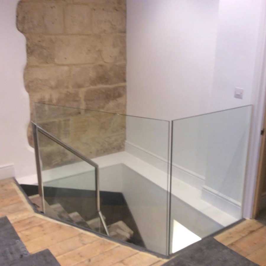 Steel Fabrication With Glass
