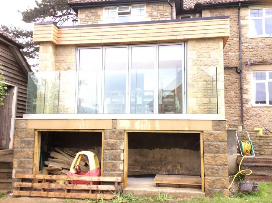 Balcony with Storage Wiltshire