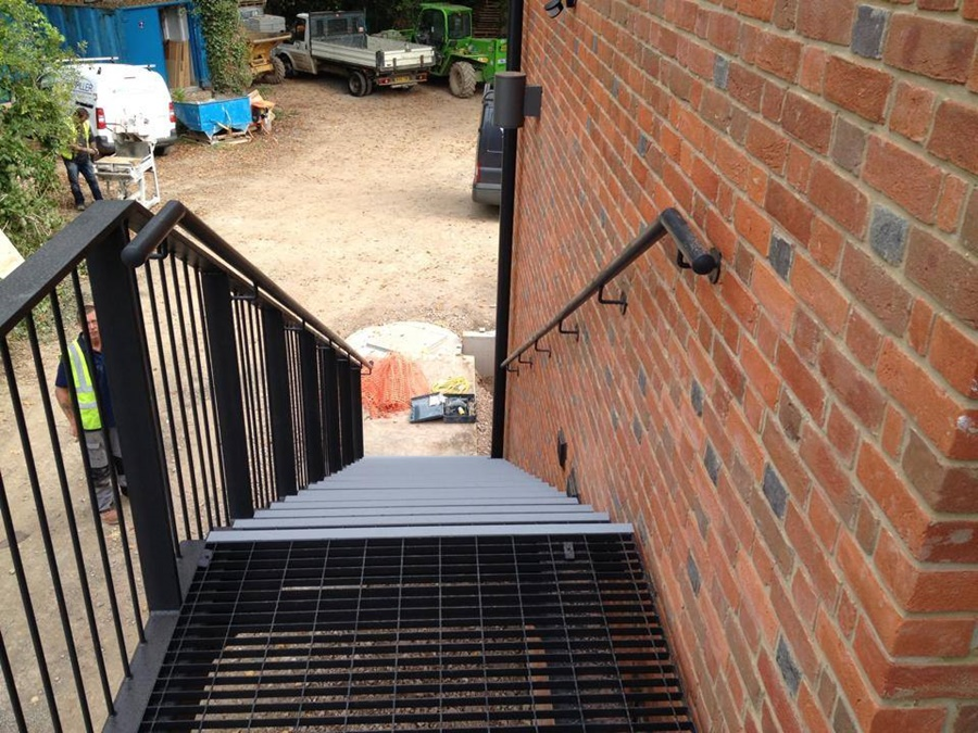 Steel Fabrication Stairwell Chippenham 4