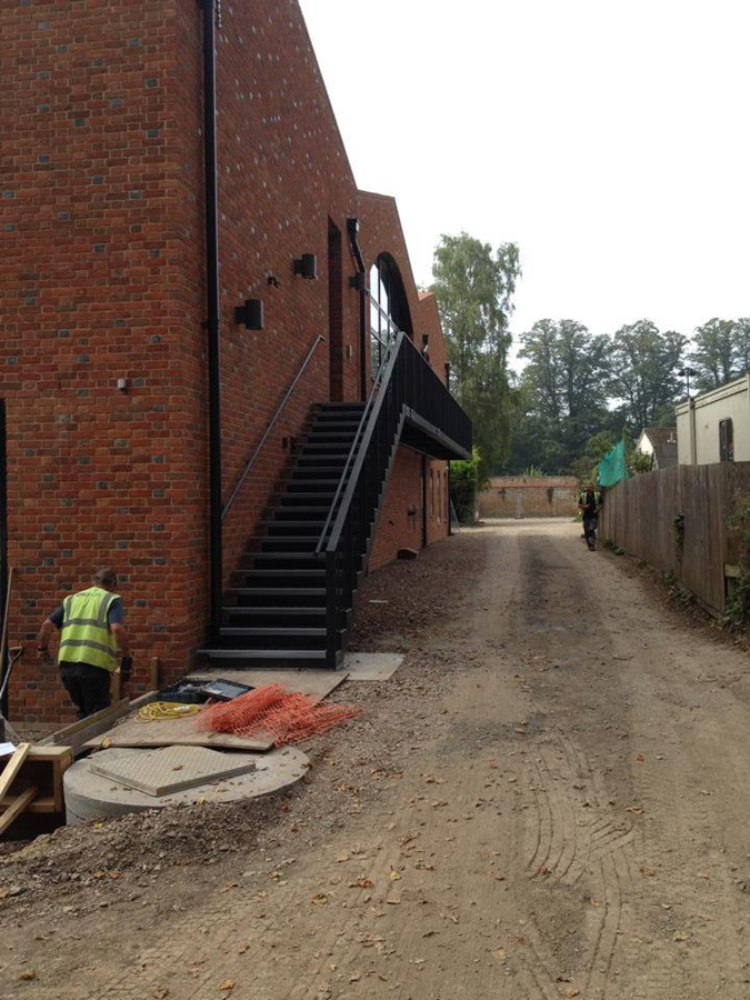 Steel Fabrication Stairwell Chippenham 2